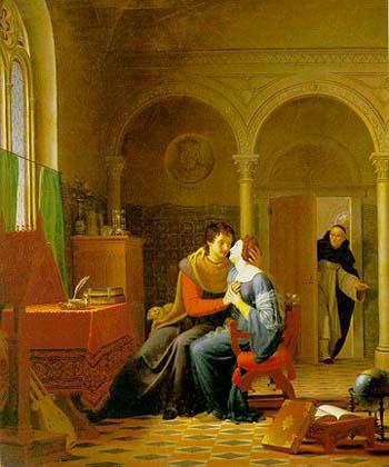 Abelard & Heloise Medieval Tragic Lovers