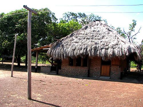 Iindian-hut-guyana